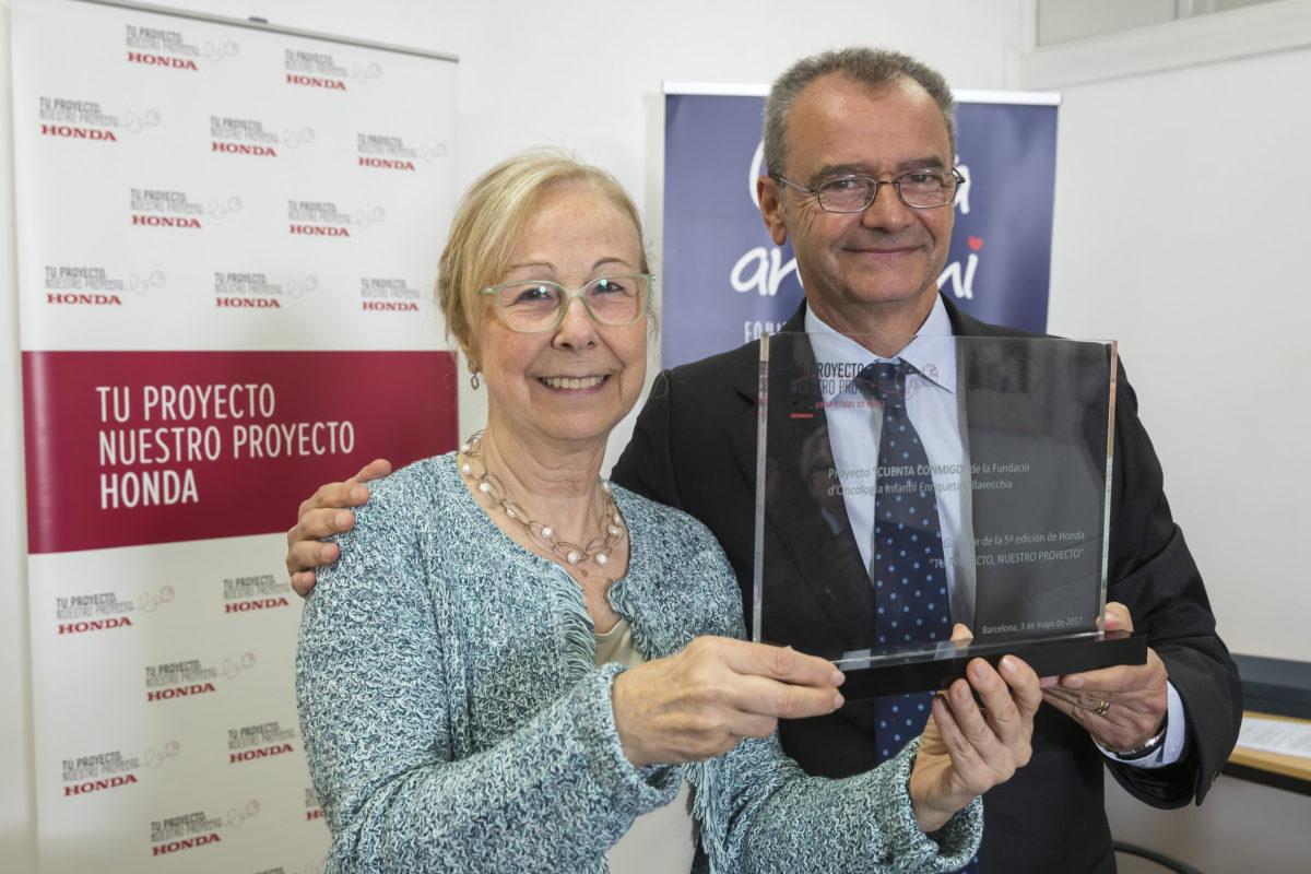 'Cuenta conmigo' recibe el premio de la 5a edición de 'Tu Proyecto, Nuestro Proyecto'