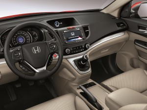 Interior del Honda CR-V