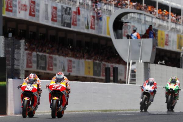 Doble podio para Honda en Catalunya; decepción para el equipo de F1 en Canadá