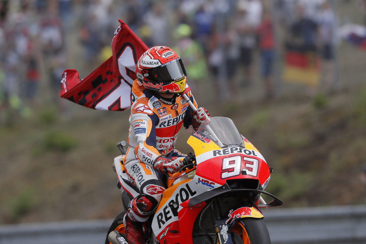 Marc Márquez es tercero en su 100º Gran Premio en MotoGP