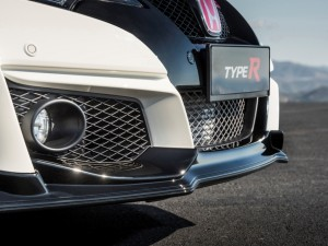 Detalle frontal Honda Civic Type R