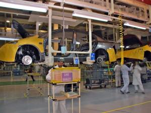 Planta de automóviles Honda en la India