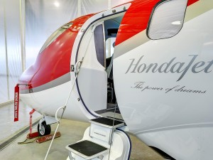 HondaJet Makes Public Debut in Japan