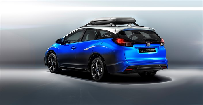 El Civic Tourer Active Life Concept hace su debut europeo en Frankfurt