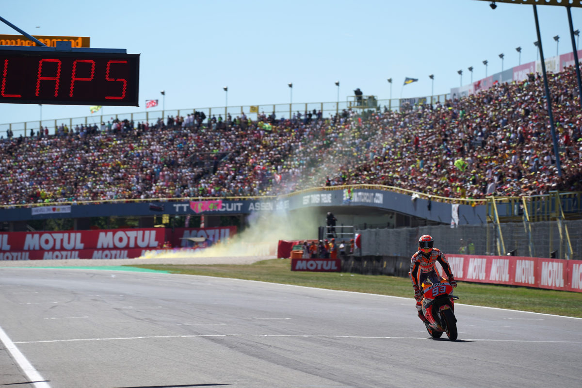 Cara para Márquez en MotoGP, cruz para la Fórmula1