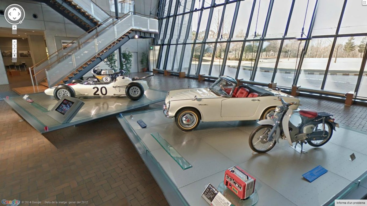 El Honda Collection Hall, a un tiro de clic gracias a Google