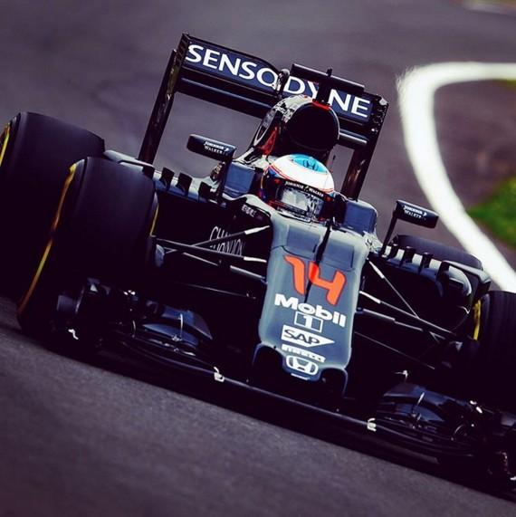 Fernando Alonso F1 GP Reino Unido Silverstone