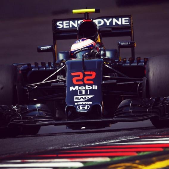 Jenson Button GP Austria McLaren-Honda 2