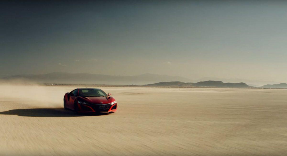 """El Honda NSX da vida a """"El Colibrí"""""""