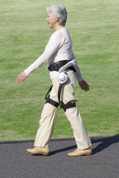Walk Assist Device in Use