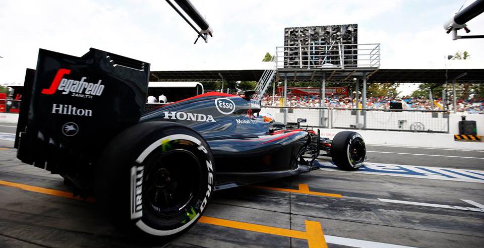 GP de Italia: duro fin de semana para McLaren-Honda, que mira esperanzado hacia Singapur