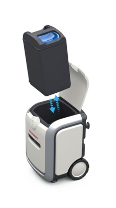 Honda Mobile Power Pack Charge & Supply – Portable Concept
